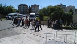 Karaman'da FETÖ Operasyonunda 10 Kişi Adliyeye...