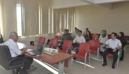 KMÜ'de Aday Memur Eğitimi Tamamlandı