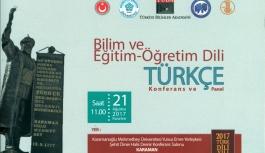 KMÜ'den Bilim Ve Eğitim-Öğretim Dili Türkçe...