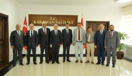 Vali Meral Türk Dil Heyetini Kabul Etti
