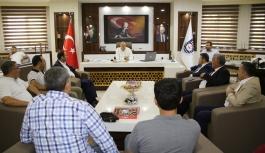 Viranşehir Heyeti Karaman'a Geldi