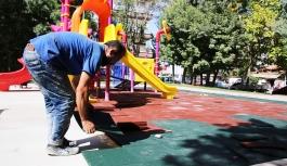 Çocukların Güvenliği İçin Oyun Alanları Kauçukla...