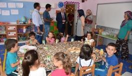İl Müdürü Kuntoğlu Köy Okullarında