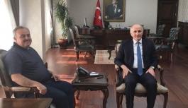 Karaman Milletvekili Şeker'den Nezaket Ziyareti