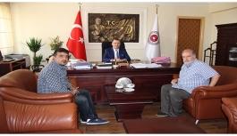 KGRT'den Başsavcı Turan'a Hoşgeldin Ziyareti
