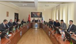 KMÜ'de Güvenlik Koordinasyon Toplantısı