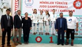 Minikler Türkiye Judo Şampiyonası'nın İkinci...