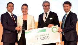 Proje Baharında Üçüncülük Ödülü...