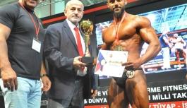 Vücut Geliştirme Türkiye Şampiyonu Silifke'den