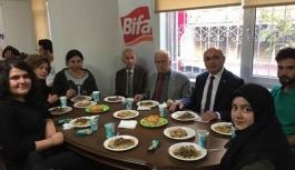 Ankara'da Okuyan Öğrenciler Yemekte Bir Araya...