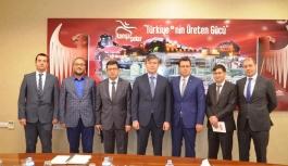 Kazakistan Büyükelçisi Saparbekuli'den Konya...