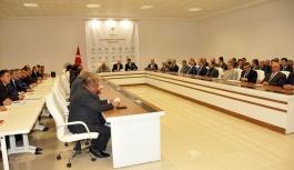 Yılın Son Koordinasyon Kurulu Toplantısında Yatırımlar...