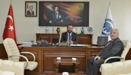 Emniyet Müdürü Bayraktar, Akgül'ü Ziyaret Etti