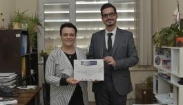 KMÜ Öğrencisi Demircioğlu'na Kimya ARGE Proje...