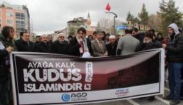"Karaman'da ""Kudüs"" Protestosu"