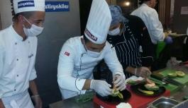 KMÜ'lü Aşçılara Uluslararası Yarışmadan...