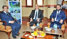 Rektör Akgül'den Saray Holding'e Ziyaret
