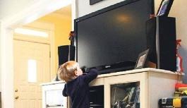Üzerine Televizyon Düşen 4 Yaşındaki Çocuk Ağır...