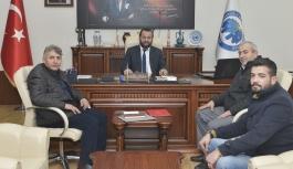 Yeni Şafak Gazetesi Temsilcilerinden Rektör Akgül'e...