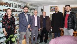 AK Parti İl Yönetiminden KGRT'ye Ziyaret