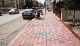 Kazım Karabekir Paşa Caddesi'nde Kaldırımlar...