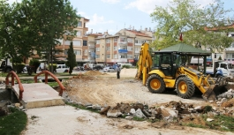 Alparslan Türkeş Parkı Yenileniyor