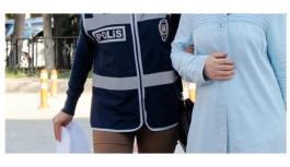 FETÖ/PYD Operasyonunda Adliyeye Sevk Edilen 5 Kadın...
