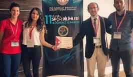 KMÜ Öğrencileri Ulusal Spor Bilimleri Kongresinde...