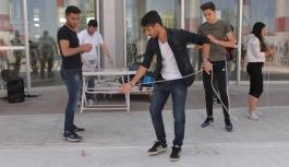 Öğrenciler Topaç Turnuvası İle Eğlendi