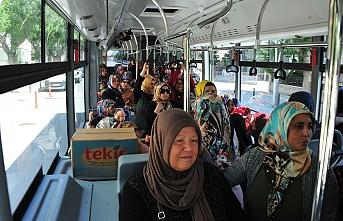 Çeltek ve Fatih Mahallesi Bayanları Şehir Gezisinde