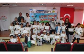 İlimizde Lider Çocuk Tarım Kampı Etkinlikleri