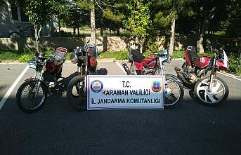 Jandarmanın Sorguladığı Motosikletler Çalıntı...