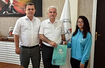 Türkiye 3'üncüsü Başarılı Judocudan Kuntoğlu'na...