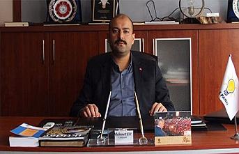 """AK Parti İl Başkanı Mehmet Er """"Barışa ve..."""