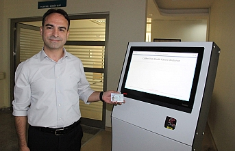 Karaman Devlet Hastanesi'nde Kiosk Uygulaması
