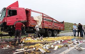 Karaman'da Sağanak Yağış Kazalara Neden Oldu:...
