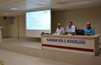 SGK'dan Yapılandırma Toplantısı