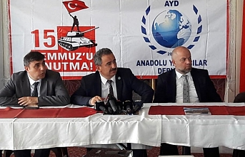 """AYD Başkanı Sinan Burhan: """"Bir Hafta Boyunca..."""
