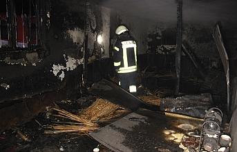 Bahçe Evinde Çıkan Yangın 1 Saatte Söndürüldü