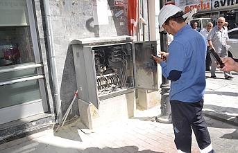 Karaman'da Trafo Yangını
