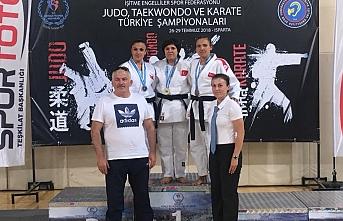 Karaman İşitme Engelli Judo Takımı Isparta'da...