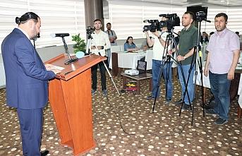 KMÜ Rektörü Akgül'den 24 Temmuz Basın Bayramı...