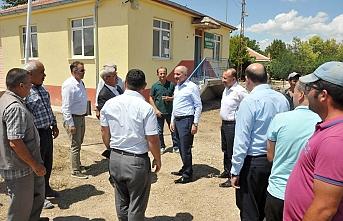Vali Meral Kaşoba Ve Demiryurt Köylerini Ziyaret...