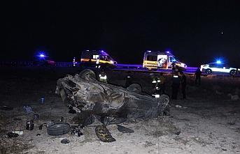 Bayram Ziyaretinden Dönen Aile Kaza Yaptı: 6 Yaralı
