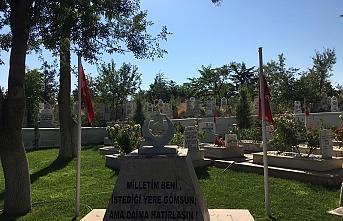 Köy Mezarlıklarındaki Şehitlerimizin Mezarlarının...