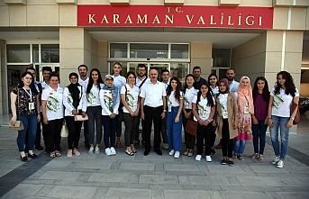 Vali Meral Türkçe Yaz Okuluna Katılan Yabancı...