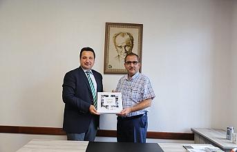 CİB Konya İl Müdürlüğünden, TSYD Konya Şubesi'ne...