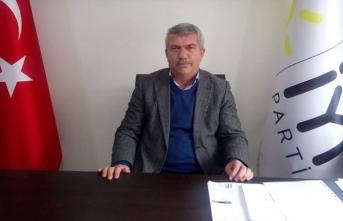 İYİ Parti Merkez İlçe Başkanı İstifa Etti