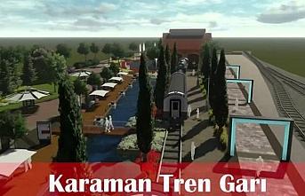 Karaman Hızlı Tren Garı Ve Çumra Tren İstasyonu...