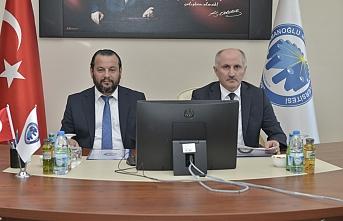 KMÜ'de Üniversite Güvenlik Koordinasyon Toplantısı...